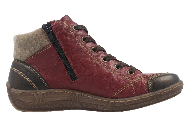 REMONTE - Damen Halbschuhe - Rot Schuhe in Übergrößen – Bild 4