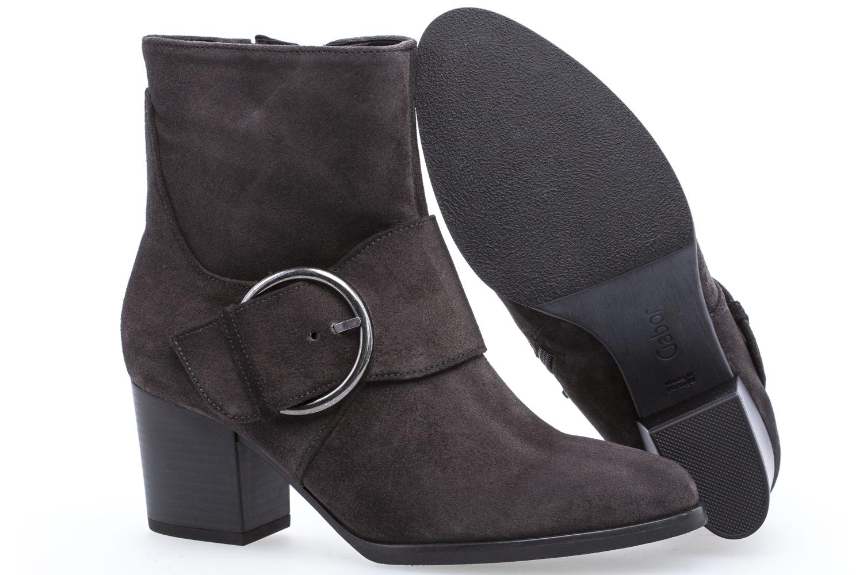 GABOR - Damen Stiefel - Dunkelgrau Schuhe in Übergrößen – Bild 6