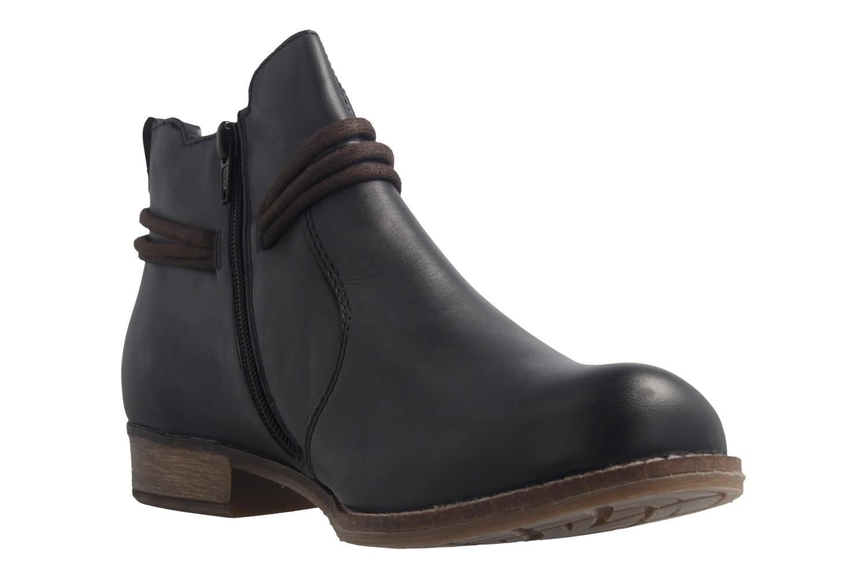 REMONTE - Damen Boots - Blau Schuhe in Übergrößen – Bild 6