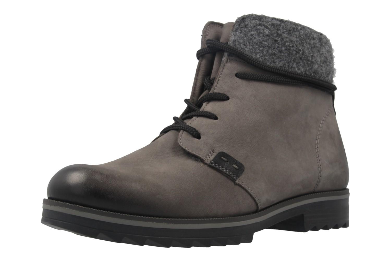 REMONTE - Damen Boots - Grau Schuhe in Übergrößen – Bild 1