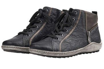 Remonte Stiefel in Übergrößen Schwarz R1472-01 große Damenschuhe – Bild 4