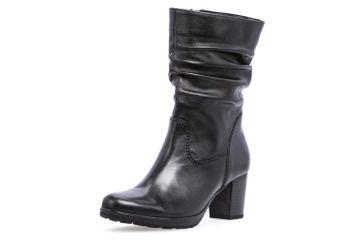 Gabor Stiefel in Übergrößen Schwarz 75.544.87 große Damenschuhe