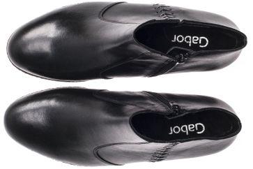 GABOR - Damen Stiefeletten - Schwarz Schuhe in Übergrößen – Bild 7