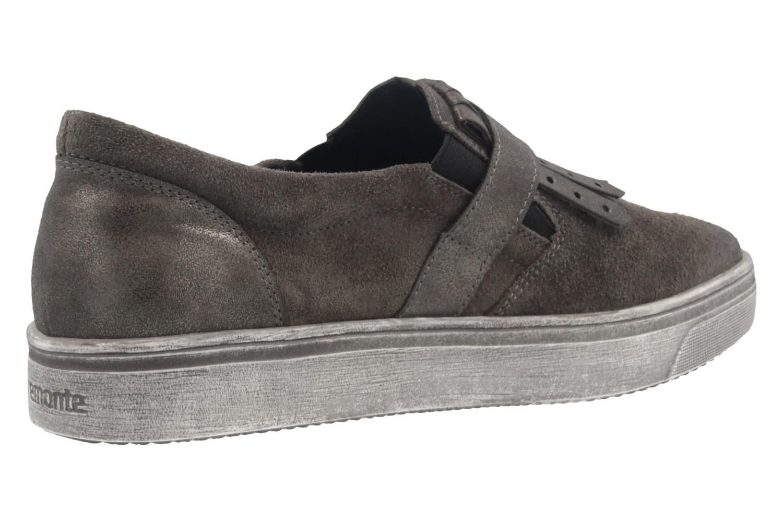 REMONTE - Damen Slipper - Grau Schuhe in Übergrößen – Bild 3