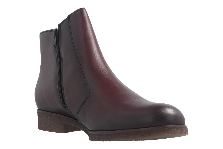 GABOR - Damen Stiefeletten - Weinrot Schuhe in Übergrößen – Bild 6