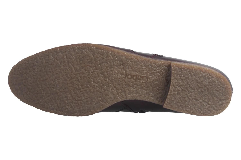 GABOR - Damen Stiefeletten - Weinrot Schuhe in Übergrößen – Bild 7