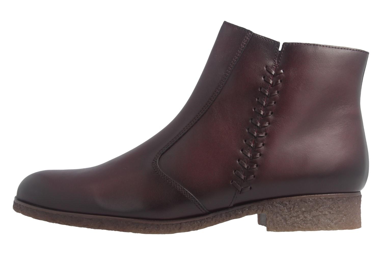 GABOR - Damen Stiefeletten - Weinrot Schuhe in Übergrößen – Bild 2