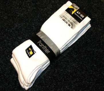 PANTHER - Herren Sportsocken - 3er Pack - Weiß Schuhe in Übergrößen – Bild 1