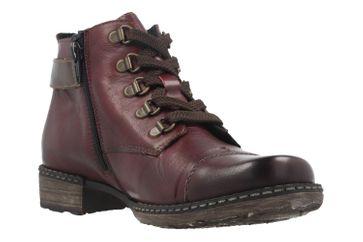 REMONTE - Damen Stiefelette - Rot Schuhe in Übergrößen – Bild 5