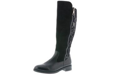 Remonte Stiefel in Übergrößen Schwarz D8577-01 große Damenschuhe – Bild 1