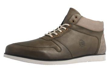 MANZ - Herren Halbschuhe - Olive Schuhe in Übergrößen – Bild 1