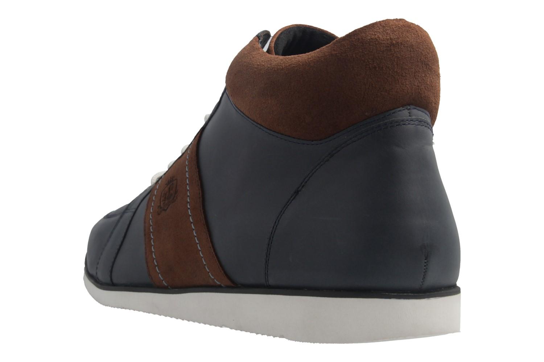 MANZ - Herren Halbschuhe - Blau Schuhe in Übergrößen – Bild 3