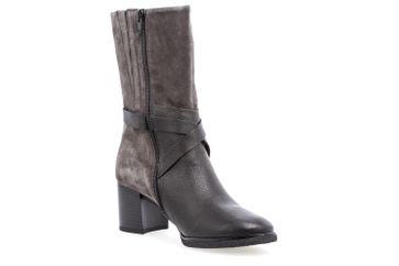 Gabor Stiefel in Übergrößen Grau 72.834.37 große Damenschuhe – Bild 5