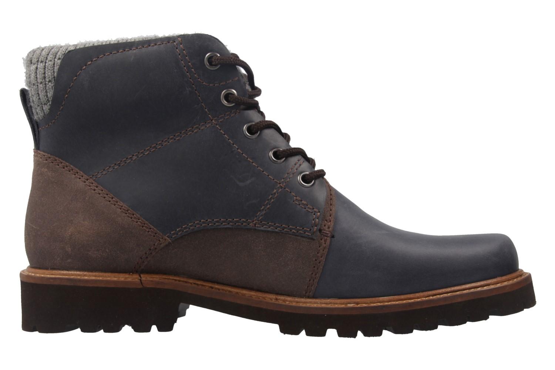 MANZ - Herren Boots - Blau Schuhe in Übergrößen – Bild 4