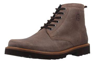 MANZ - Herren Boots - Braun Schuhe in Übergrößen