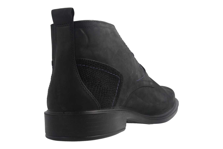 JOMOS - Herren Boots - Schwarz Schuhe in Übergrößen – Bild 4
