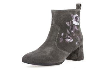 GABOR - Damen Stiefeletten - Anthrazit Schuhe in Übergrößen – Bild 1