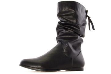 ANDRES MACHADO - Damen Stiefel - Schwarz Schuhe in Übergrößen – Bild 1