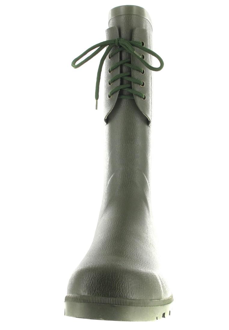 Intex Kautschuk-Gummistiefel in Übergrößen Grün 22001 große Herrenschuhe – Bild 4
