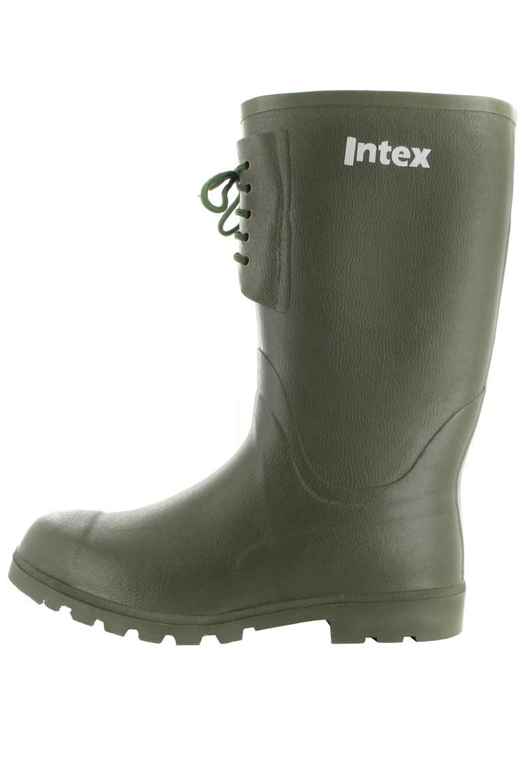 INTEX Forst - Herren Kautschuk-Gummistiefel - Grün Schuhe in Übergrößen – Bild 5