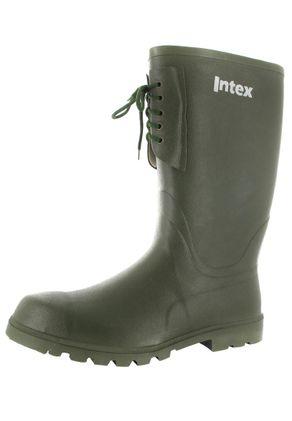 INTEX Forst - Herren Kautschuk-Gummistiefel - Grün Schuhe in Übergrößen – Bild 1
