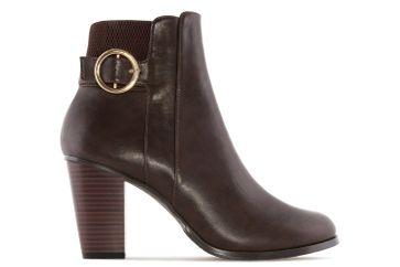 ANDRES MACHADO - Damen Stiefelette - Braun Schuhe in Übergrößen – Bild 3