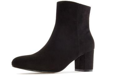 ANDRES MACHADO - Damen Stiefelette - Schwarz Schuhe in Übergrößen