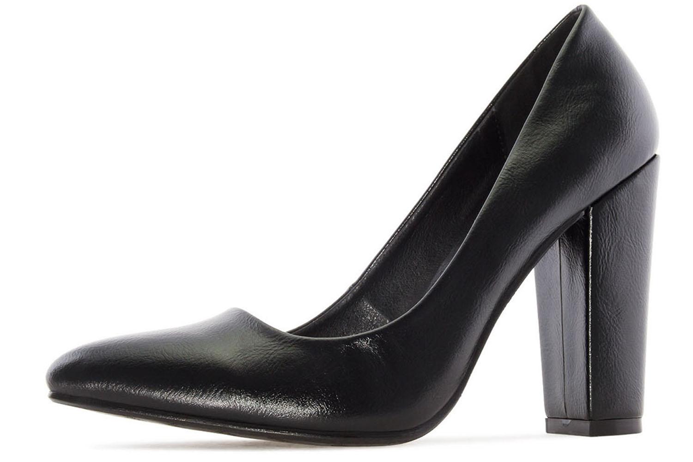 ANDRES MACHADO - Damen Pumps - Schwarz Schuhe in Übergrößen – Bild 1