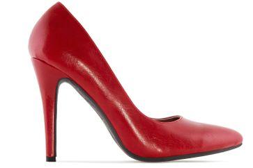Andres Machado Pumps in Übergrößen Rot AM5199 Soft Rojo große Damenschuhe – Bild 3