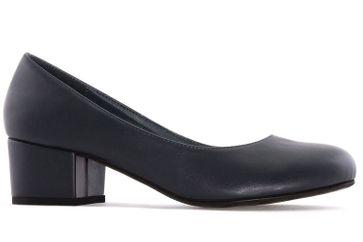 ANDRES MACHADO - Damen Pumps - Blau Schuhe in Übergrößen – Bild 4