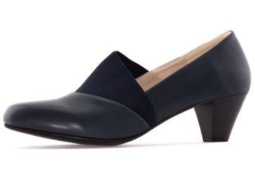 ANDRES MACHADO - Damen Pumps - Blau Schuhe in Übergrößen