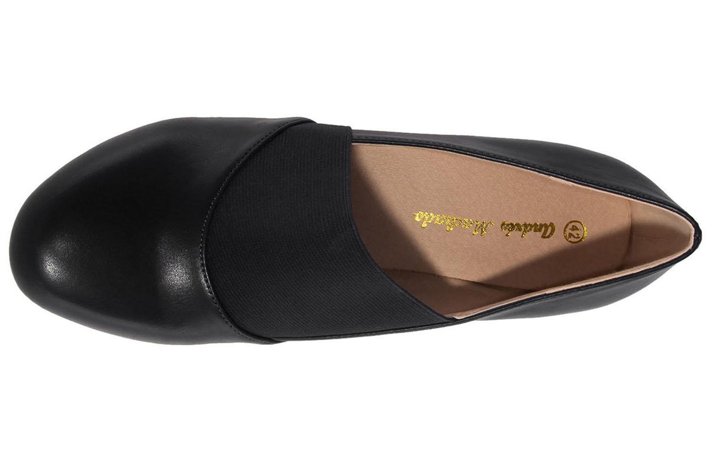 ANDRES MACHADO - Damen Pumps - Schwarz Schuhe in Übergrößen – Bild 5