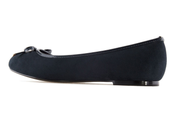 ANDRES MACHADO - Damen Ballerina - Blau Schuhe in Übergrößen – Bild 2