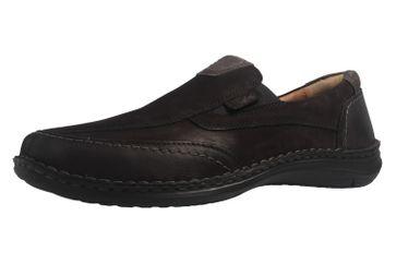 JOSEF SEIBEL - Anvers 67 - Herren Slipper - Schwarz Schuhe in Übergrößen