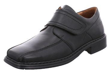 JOSEF SEIBEL - Herren Halbschuhe - Maurice 16 - Schwarz Schuhe in Übergrößen – Bild 1