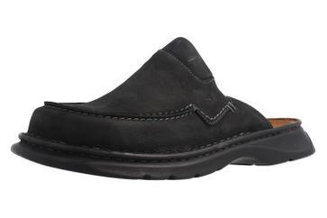 JOSEF SEIBEL - Wido 01 - Herren Hausschuhe - Schwarz Schuhe in Übergrößen – Bild 1