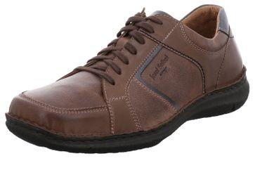 JOSEF SEIBEL - Anvers 49 - Herren Halbschuhe - Braun-Kombi Schuhe in Übergrößen – Bild 1