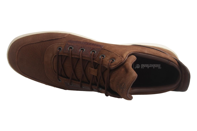 TIMBERLAND - Amherst High Top Chu Potting Soil - Herren Halbschuhe - Braun Schuhe in Übergrößen – Bild 7
