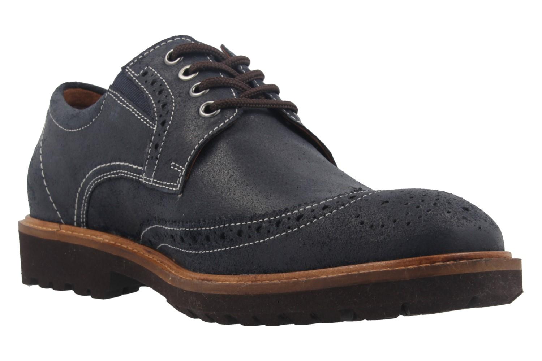 MANZ - Herren Business Schuh - Rock Suede Eva - Dunkelblau Schuhe in Übergrößen – Bild 5