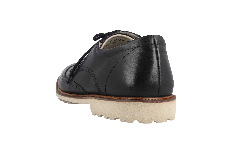Manz Business Schuhe in Übergrößen Schwarz 146056 03 001 große Herrenschuhe – Bild 2