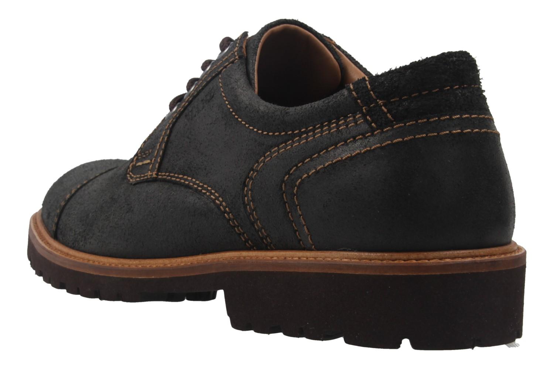 Manz Business Schuh in Übergrößen Schwarz 146065 03 001 große Herrenschuhe – Bild 2