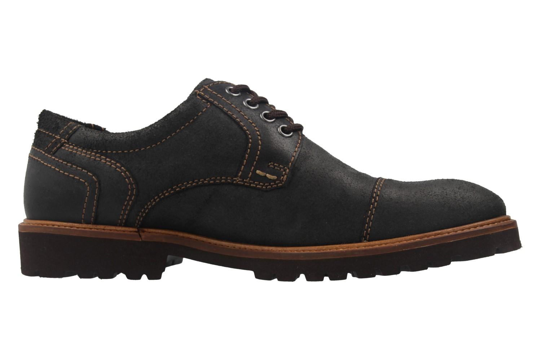 Manz Business Schuh in Übergrößen Schwarz 146065 03 001 große Herrenschuhe – Bild 4
