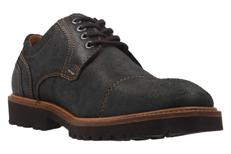 Manz Business Schuh in Übergrößen Schwarz 146065 03 001 große Herrenschuhe – Bild 5