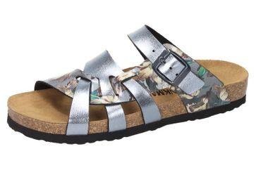 DR. BRINKMANN - Damen Tiefbett Pantolette Grau - Schuhe in Übergrößen
