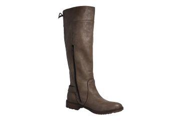 Mustang Shoes Stiefel in Übergrößen Beige 1261-501-318 große Damenschuhe – Bild 5