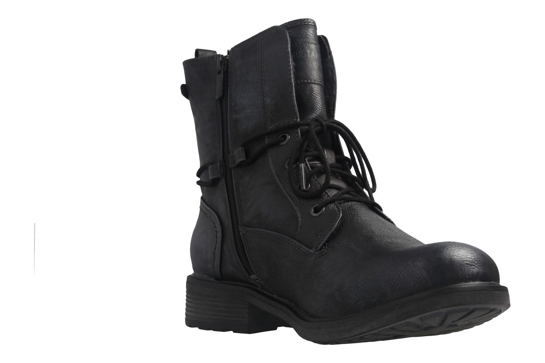Mustang Shoes Boots in Übergrößen Blau 1264-604-820 große Damenschuhe – Bild 6