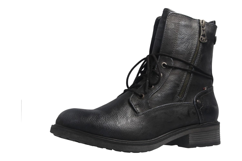 Mustang Shoes Boots in Übergrößen Blau 1264-604-820 große Damenschuhe – Bild 1