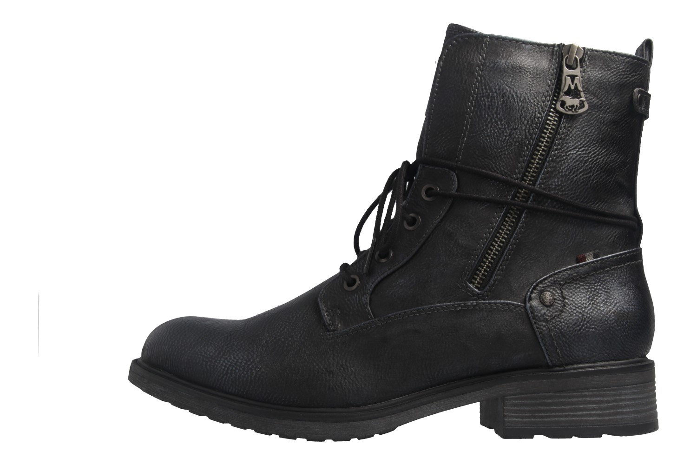 Mustang Shoes Boots in Übergrößen Blau 1264-604-820 große Damenschuhe – Bild 2