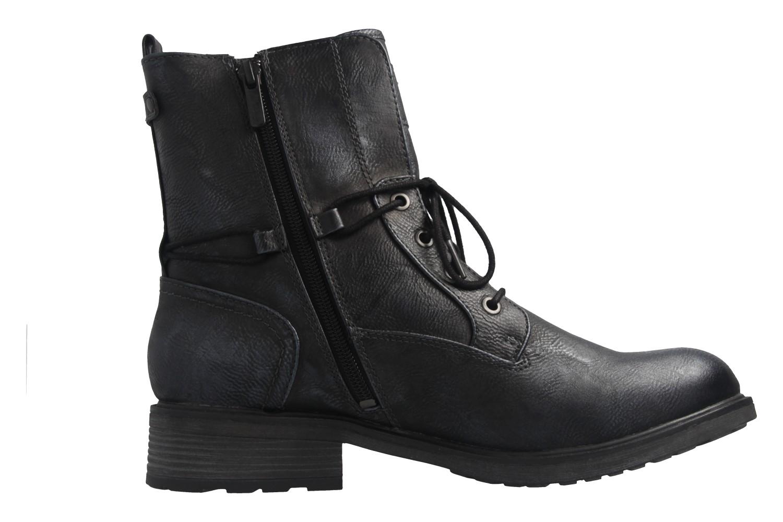 Mustang Shoes Boots in Übergrößen Blau 1264-604-820 große Damenschuhe – Bild 5