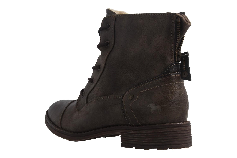 Mustang Shoes Boots in Übergrößen Braun 1265-601-306 große Damenschuhe – Bild 2